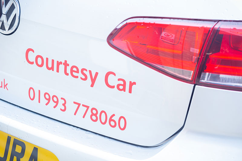 Car Services and Repairs - Courtesy Car from Just Right Autos, Witney