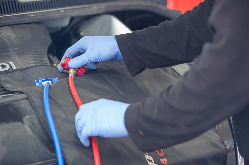 Maintenance for air conditioning in cars, Oxfordshire